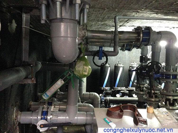 Hệ thống lọc tự động azud - Vòng xoay Tây Ninh