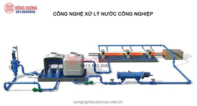 Hệ thống xử lý nước công nghiệp, làm mát, tái sử dụng nước