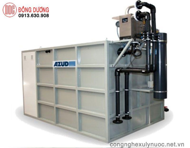 Công nghệ xử lý thải bằng container